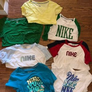 Nike women's T-shirt bundle